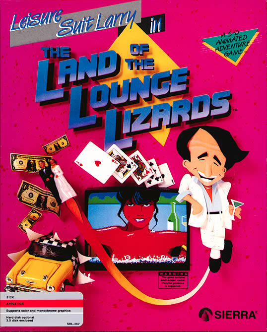 Leisure Suit Larry in the Land of the Lounge Lizards скачать бесплатно